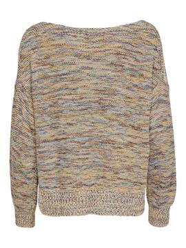 ONLTILLA L/S PULLOVER KNT MISTED-W