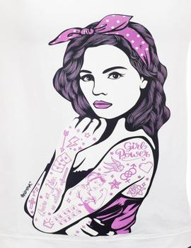 CAMISETA TATTOO BLANCA-W