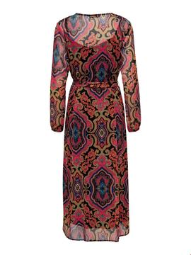 ONLMARY LIFE  L/S MAXI DRESS NIGHT-W