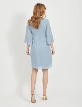 VIMICADA 3/4 SLEEVE DRESS ASHLEY-W