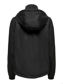 ONLFMANNA HOODED JACKET BLACK-W
