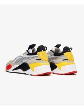 RS-X TOYS PUMA WHITE PUMA BLACK- W