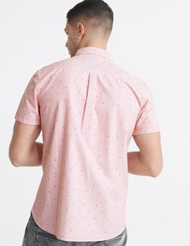 CLASSIC SHOREDITCH PRINT S/S SHIRT-W