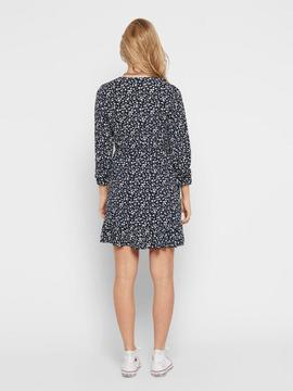 ONLCARLY L/S WRAP SHORT DRESS NIGHT-W