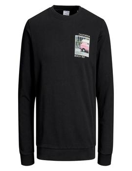 JORQUIVER SWEAT CREW NECK TAP-W