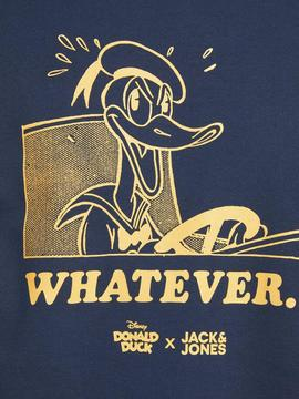 JORDONALDDUCK SWEAT CREW NAVY-W