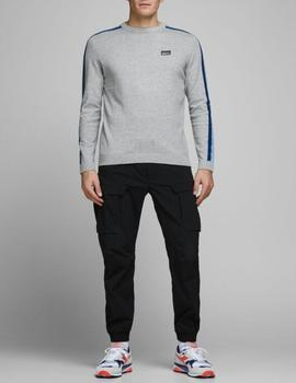 JCOBADGE KNIT CREW NECK LIGHT-W