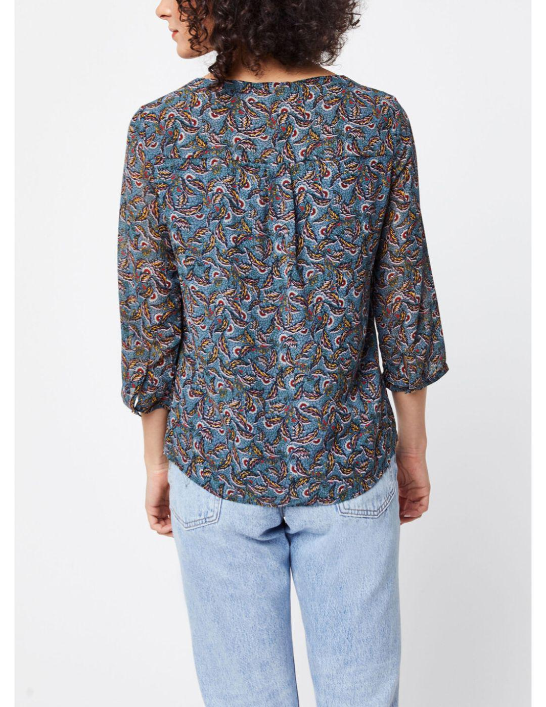 VIELOISE AMARI 3/4 SHIRT CHINA-W