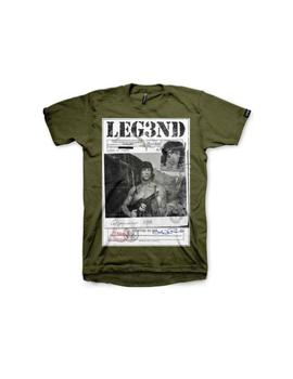 Camiseta LEG3ND-RAMBO-W
