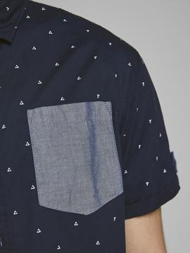 JCOMARS SHIRT SS ONE POCKET SKY-W