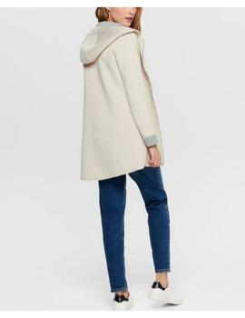 ONLLENA BONDED COAT MOONBEAM-W