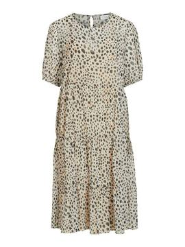 VIALTAS 2/4 MIDI DRESS CLOUD-X