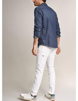 CAMISA FIT SLIM EN DENIM-X