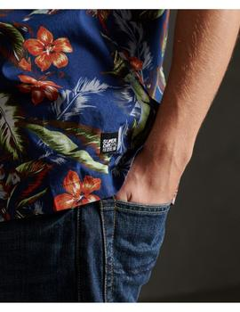 HAWAIIAN BOX S/S SHIRT-W