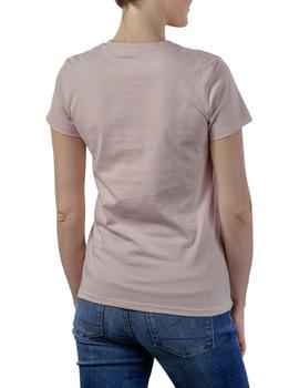 THE PERFECT TEE SERIF LOGO SEPIA ROSE G-X