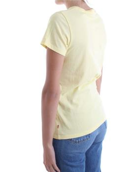 THE PERFECT TEE BATWING OUTLINE LEMON M -X