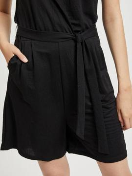 VISAFINAS/S PLAYSUIT BLACK-W