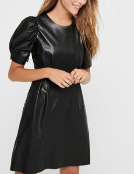 ONLLAUREN FAUX LEATHER DRESS OTW- X