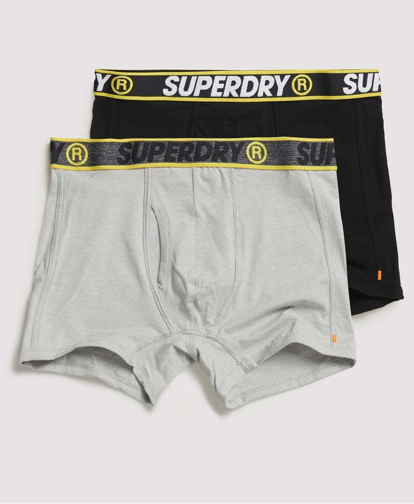SUPERDRY SPORT BOXER DBL PACK-X