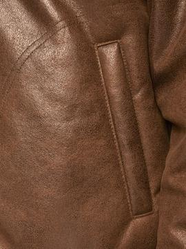 JJFLIGHT JACKET COGNAC-X