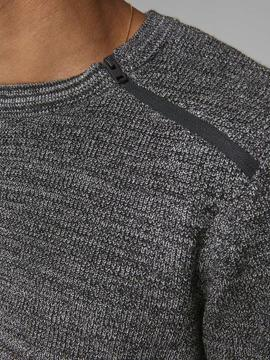JCOMOUNT KNIT CREW NECK BLACK-X