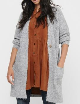 ONLBLAIR L/S CARDIGAN LIGHT GREY-X