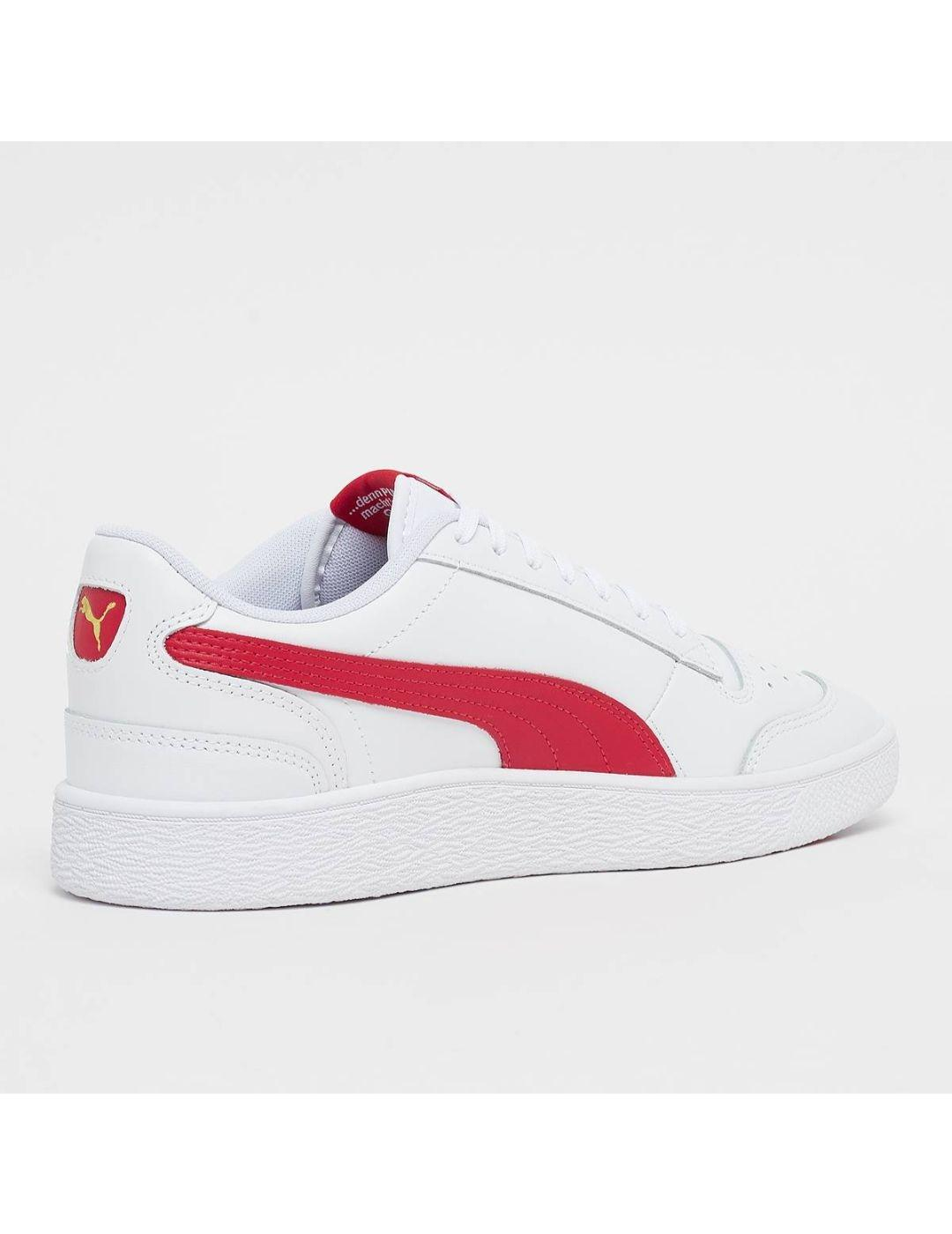 RALPH SIMPSON LO WHITE-RED-X