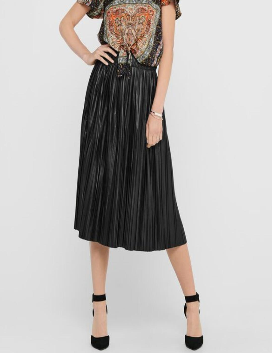 ONLMIE FAUX LEATHER MIDI-X